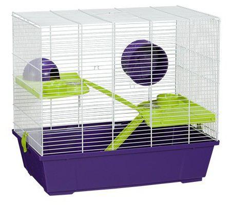 942 Blanc Hamster Cage 36 X 58,5 X 51,5 cm